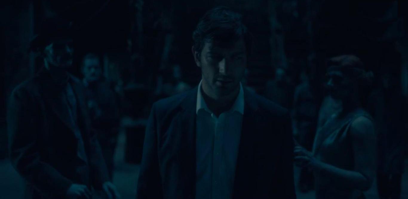 Série The Haunting of Hill House. Episode final. Laisse laisse ses fantômes derrière lui.