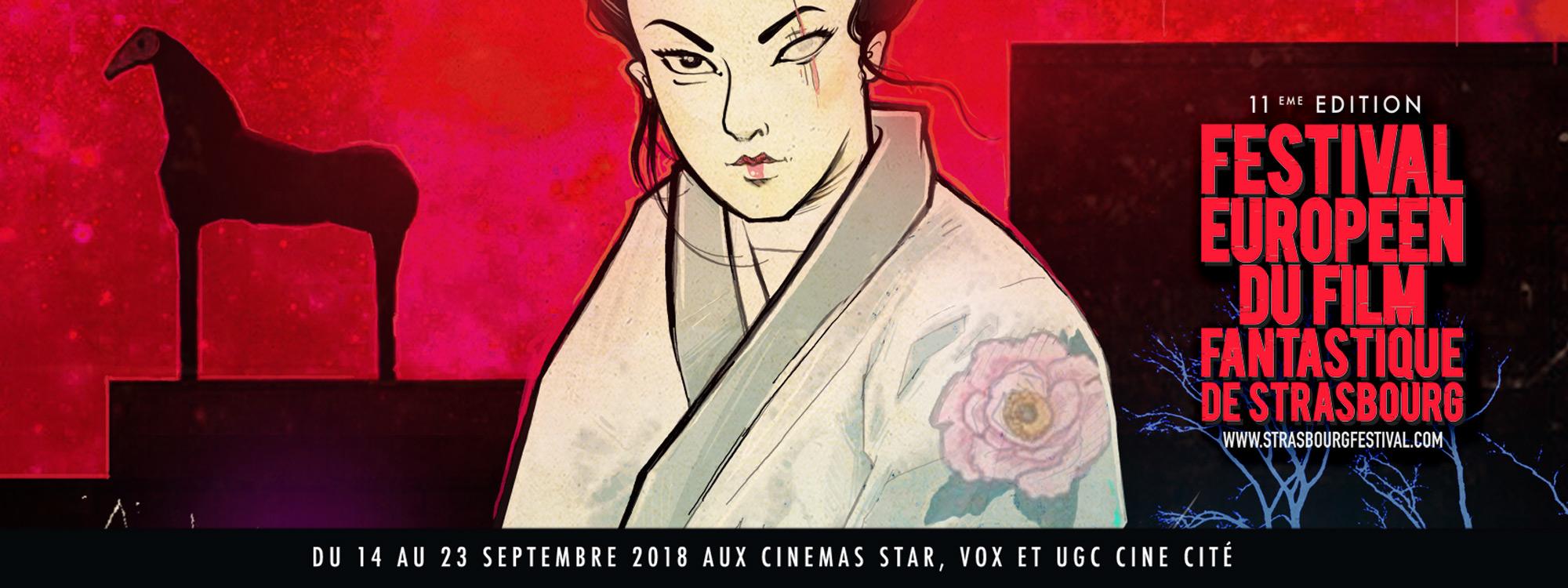 Festival Européen du Film Fantastique de Strasbourg Edition 2018