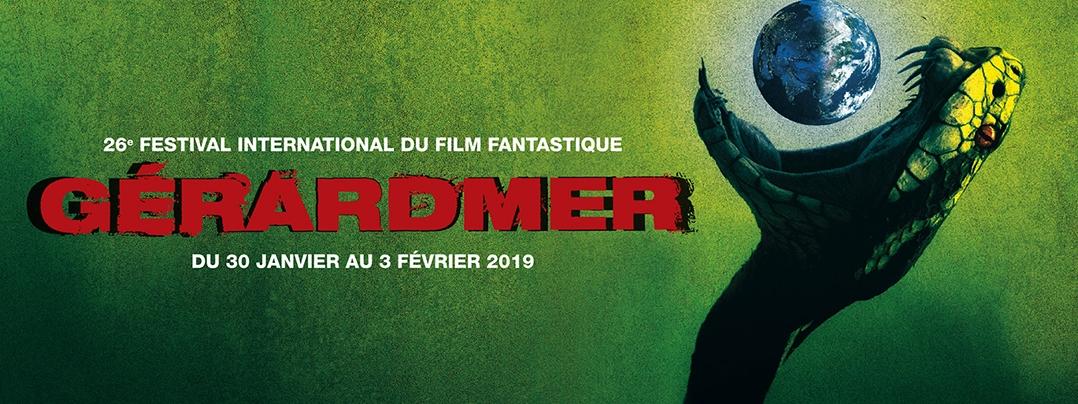 Affiche Festival Film Fantastique Gérardmer 2019