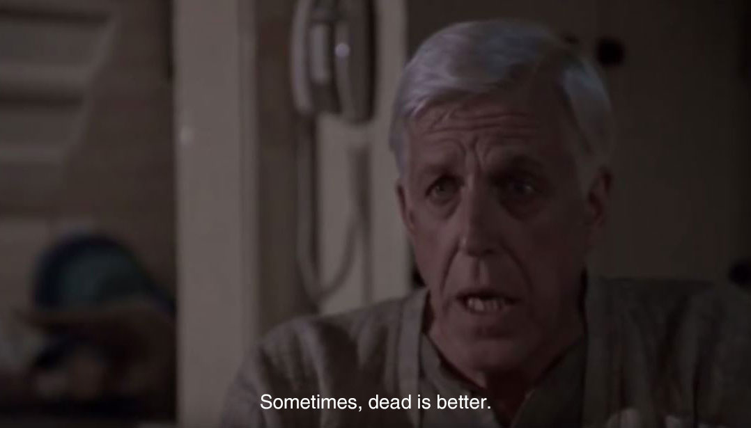 Sometimes, dead is better Jud Crandall Simetierre 1989