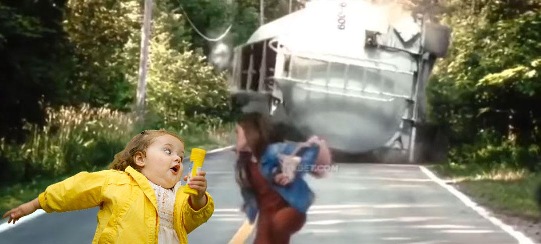 Simetierre 2019, Ellie scène du camion