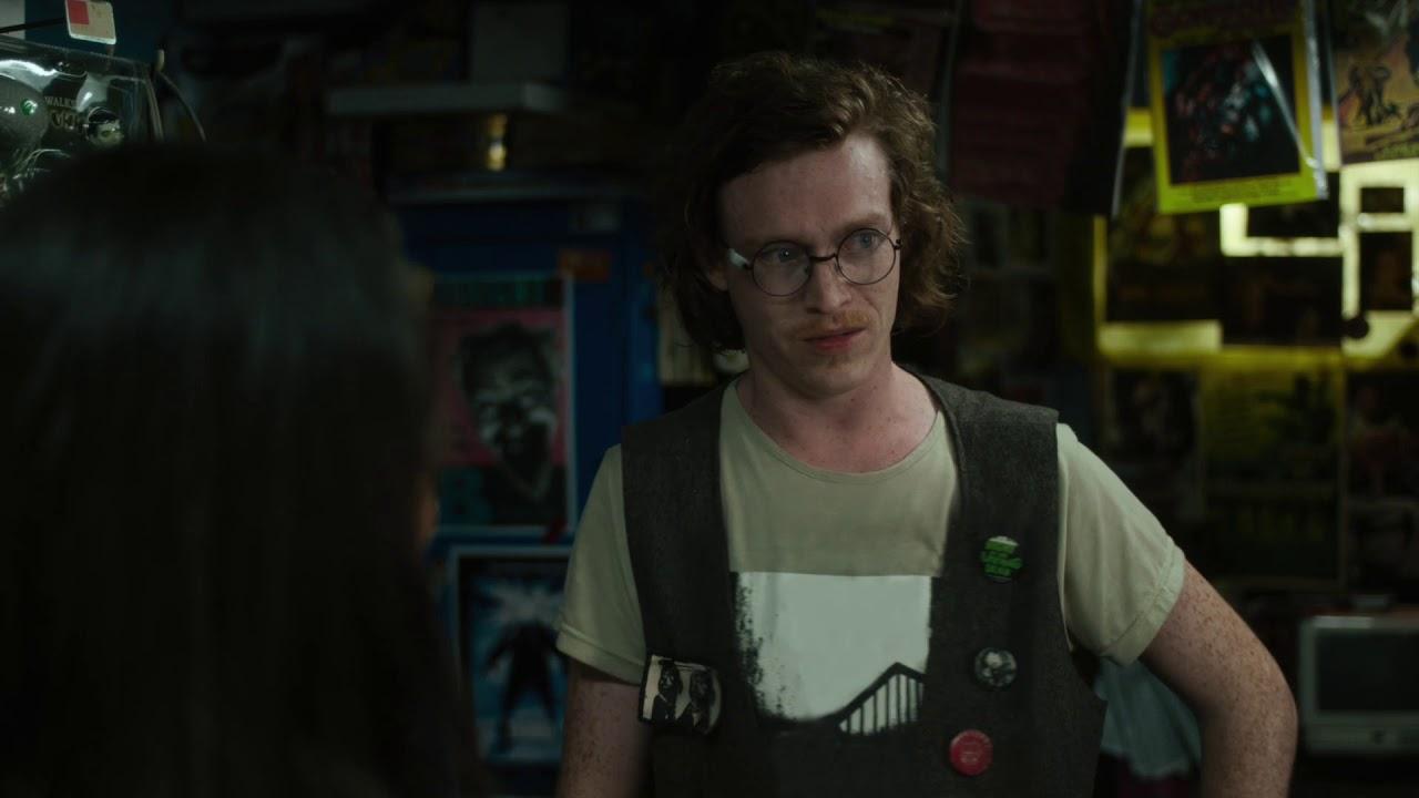 Caleb Landtry Jones qui incarne Bobby Wiggins dans The Dead Don't Die