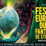 Festival Européen Film Fantastique Strasbourg Visuel 2019