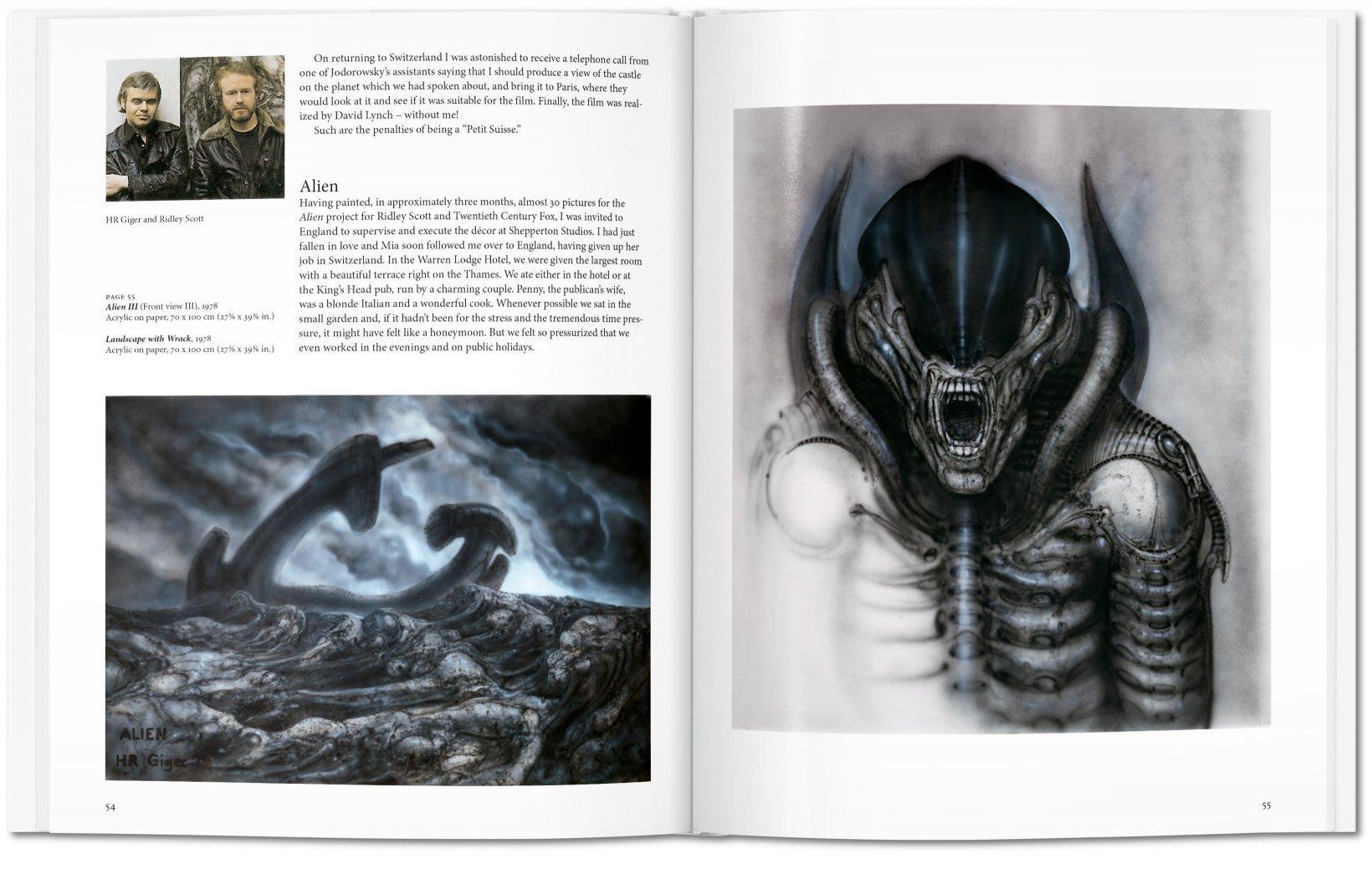 Liver HR Giger Editions Taschen, Alien