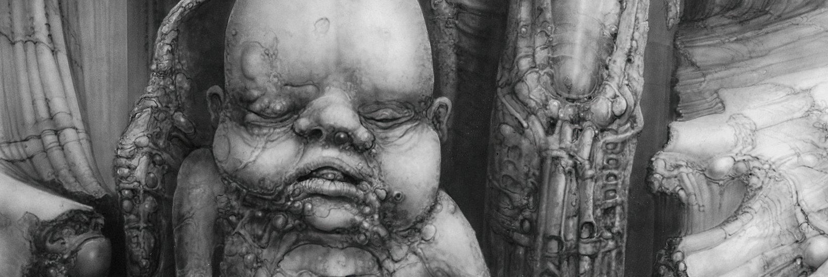 HR Giger bébés - Paysage-XXVIII