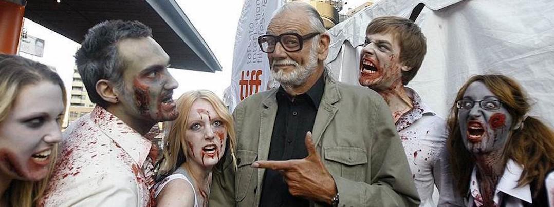 George Romero et ses zombies